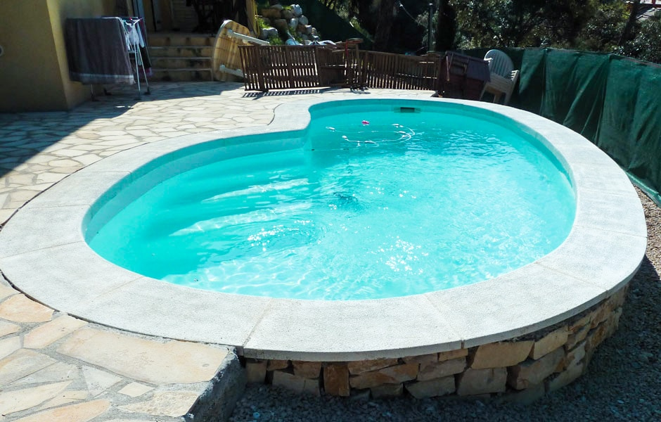 Photo modèle piscine MdP 670 - SPA Piscines