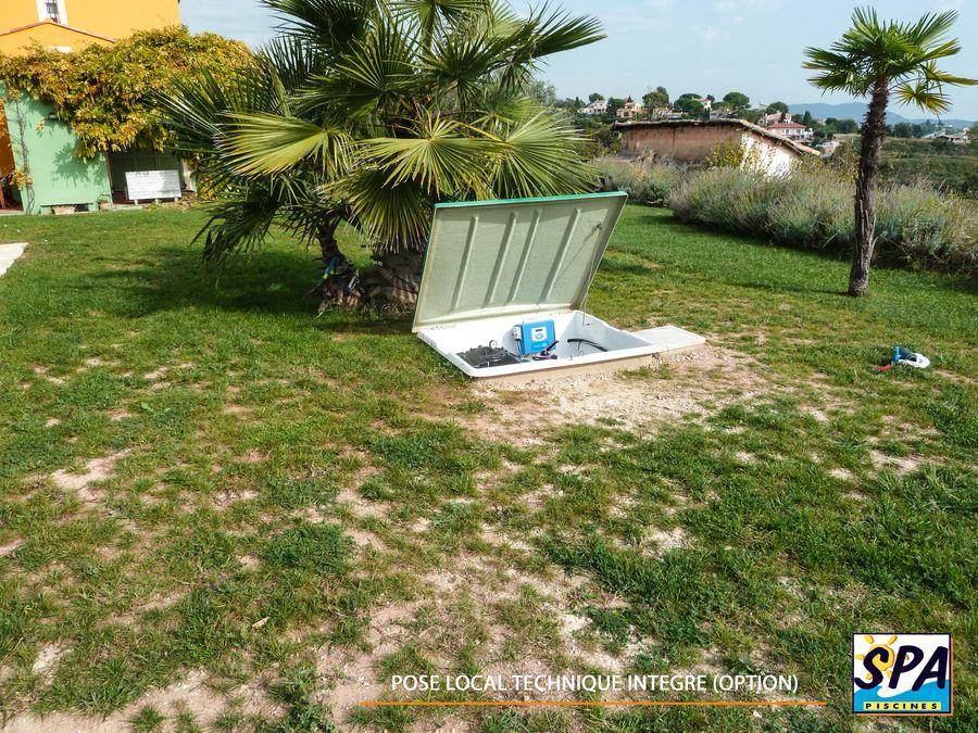 Mise en service de la piscine coque polyester – SPA Piscines