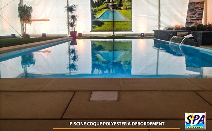 Piscine à débordement - SPA Piscine