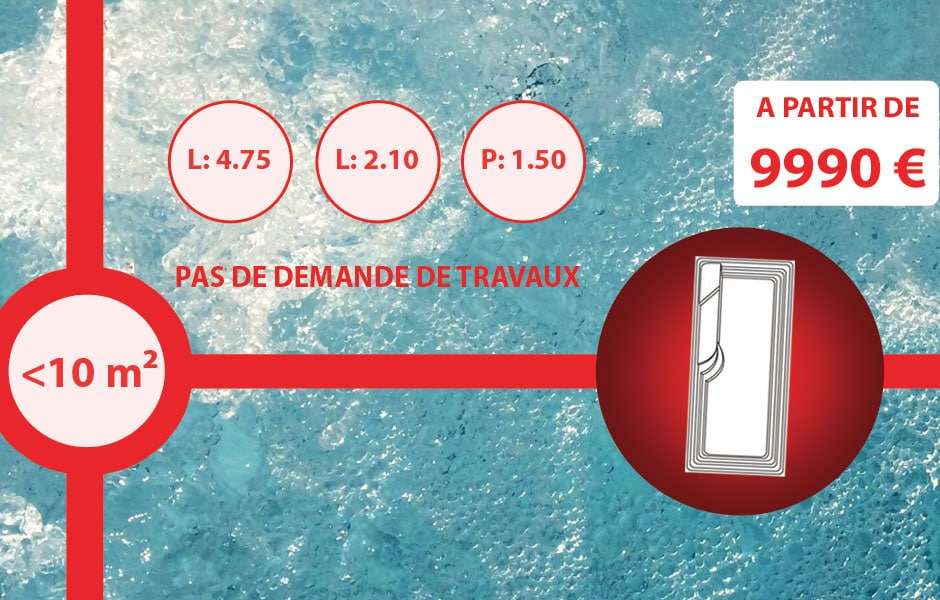 Photo piscine modèle SMART LANE - SPA Piscines