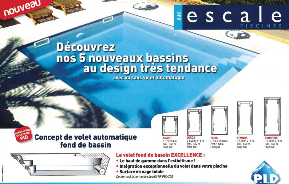 Modèle piscine coque polyester - Escale LEROS - SPA Piscines