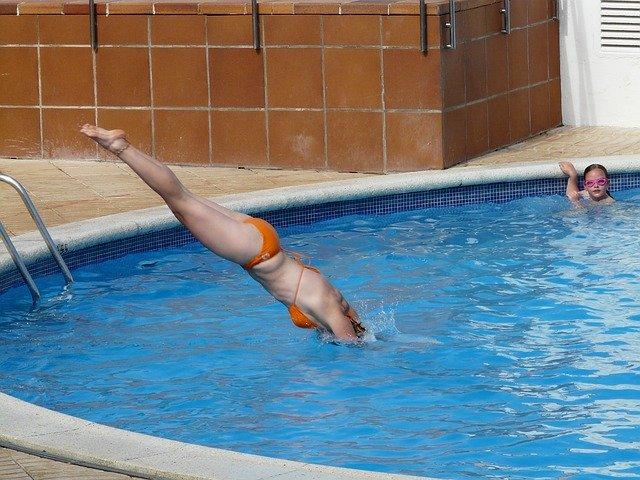 Sport avec sa piscine